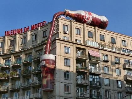 Реклама на крышных установках